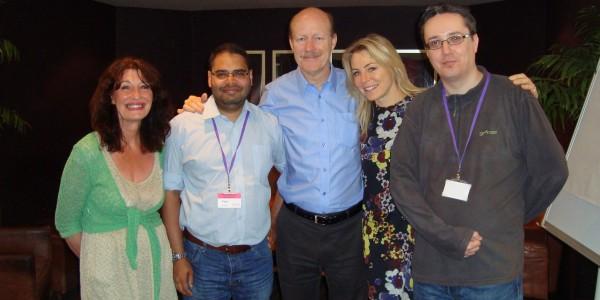 The NHF UK Team - AV5 - May 2014