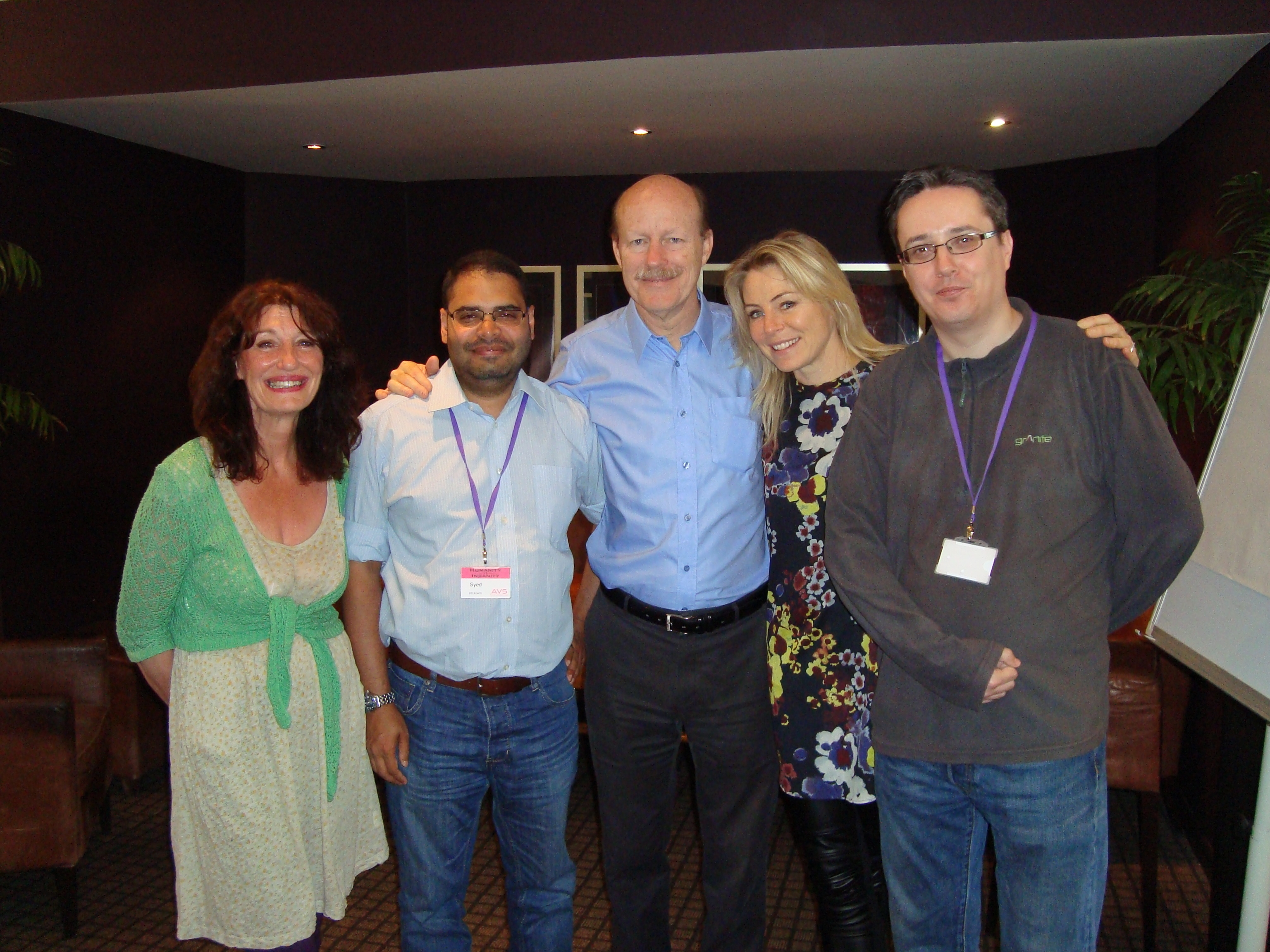 The NHF UK Team - AV5 - May 2014